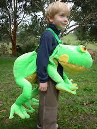 Frog Halloween Costumes Kids Safari Wrap U0026 039 U0026 039 Ride Plush Green Frog Costume