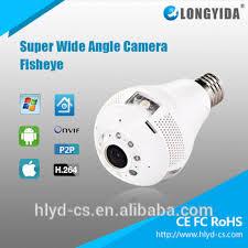 960p security camera light bulb p2p remote control wifi lamp