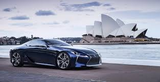 lexus lf lc performance lf lc production flagship coupe set for 2016