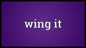 wing it meaning