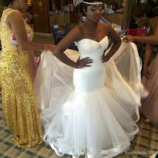 2016 simple tulle sweetheart cheap bridal dresses african wedding