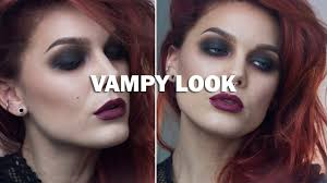Vampire Halloween Makeup Tutorial Vampy Look With Subs Linda Hallberg Makeup Tutorials Youtube