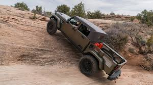 jeep cherokee chief off road a romp off road in the jeep crew chief concept the drive