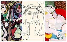 woman sketch picasso