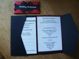 nightmare before christmas wedding invitations wallet wedding invitations alternabrides