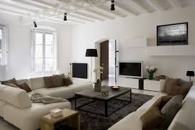 Cream Living Room Vintage Wooden Tables With Contemporary Cream Living Room Sofas