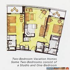 Bay Lake Tower 3 Bedroom Villa 24 Best Disney World Resorts Images On Pinterest Disney