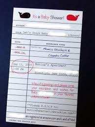 Library Card Invitation Baby Shower A Bar Cart In Brooklyn Baby Shower Invitations By Carissa Nee