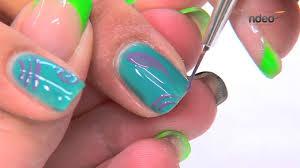 nail art with gel nail polish for summer nail designs nded com