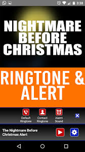 free halloween movie ringtone amazon com the nightmare before christmas ringtone and alert