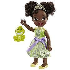 disney princess petite doll tiana frog amazon uk toys