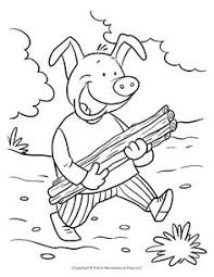 pigs coloring sheet pigs
