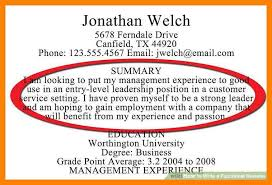 Summary For Job Resume How To Write A Resume For A Real Estate Job 13 Steps How To Write