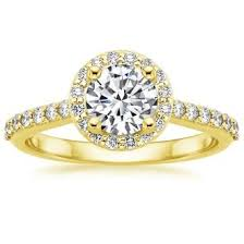 Yellow Gold Wedding Rings by Yellow Gold Engagement Rings Brilliant Earth