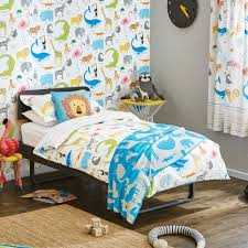scion kids animal magic duvet cover set single kids bed linen