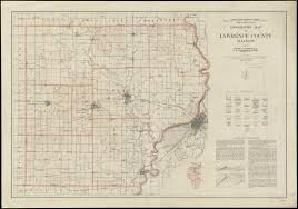 County Map Of Illinois Topographic Map Of Lawrence County Illinois Digital Commonwealth