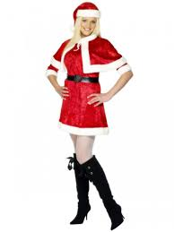 mrs claus costumes christmas party costume uk womens mrs santa claus