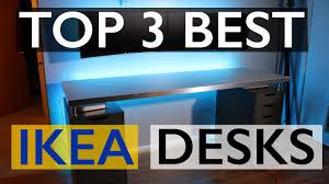 best ikea desks for your setup 2017 youtube