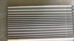 Retractable Window Blinds How To Re String A Pleated Rv Day Night Window Shade Youtube