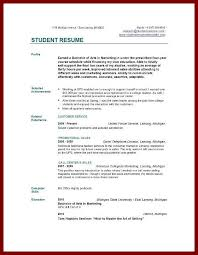 Resume Sample For College Students by Resume Sample For College Students Jennywashere Com