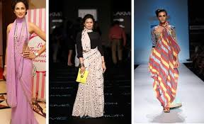 Drape A Sari 10 Offbeat Saree Draping Styles Which Will Make You A Star This