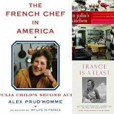 celebrating julia child on her birthday and the many books new