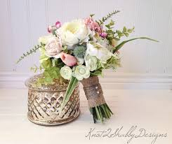 Shabby Chic Flower Arrangement by Fabulous Shabby Chic Wedding Flowers Vintage Rustic Weddings