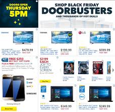 who has the best tv deals for black friday best buy u0027s black friday 2016 doorbuster ad circular released see