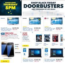 black friday best online tv deals best buy u0027s black friday 2016 doorbuster ad circular released see