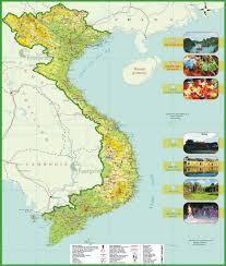 Biomes Map Vietnam Travel Maps