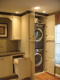 awesome way to make a laundry room not look like a laundry room