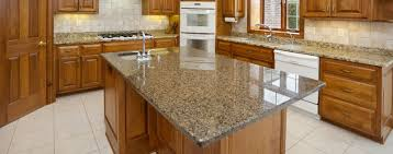 Kitchen Counter Decorating Ideas Kitchen Enchanting Grey Granite Countertop Connected Beige Tile