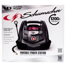schumacher multi functional portable digital power station