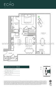 Echo Brickell Floor Plans Echo Brickell Floor Plans