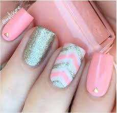 33 cute pink nail designs you must see silver nail lights and
