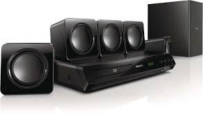 durabrand home theater system home theater 5 1 dvd htd3510 55 philips