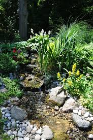 Pinterest Backyard Ideas Best 25 Garden Stream Ideas On Pinterest Modern Pond Small