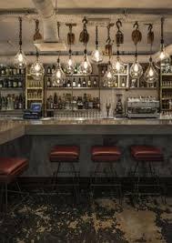 industrial style bar counter fat cactus pinterest bar