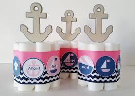nautical baby shower centerpieces nautical diaper cakes