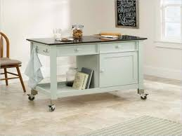 ilots de cuisine mobile cuisines lot de cuisine en bleu vert pastel le îlot à roulettes