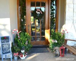 Home Decorating Ideas For Christmas Front Doors Front Door Decorating Ideas For Spring 47 Rustic