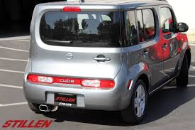 scion cube nissan cube intake and exhaust system released stillen garage