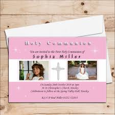 1st Holy Communion Invitation Cards 10 Personalised Girls 1st First Holy Communion Photo Invitations N19