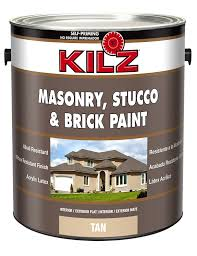 amazon com kilz interior exterior self priming masonry stucco