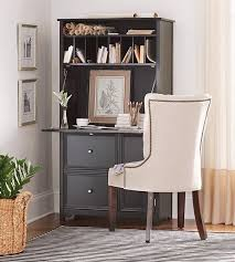 tall secretary desk with hutch custom tufted back dining chair chairs for in front of window with