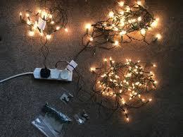 homebase 5 foot dew drop artificial christmas tree lights in