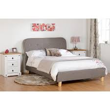 Mattress Next Day Delivery Bedmaster by Eaton Grey Fabric Bed Next Day Select Day Delivery