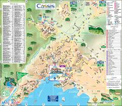 Marseille France Map by Cassis Tourist Map