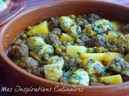 cuisiner des petit pois surgel tajine de kefta artichauts et petits pois le cuisine de samar