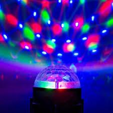 mini disco ball light mini led disco ball stage lighting dj ball crystal magic light home